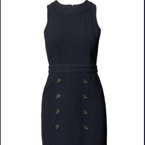 Banana Republic Blue Work Dress